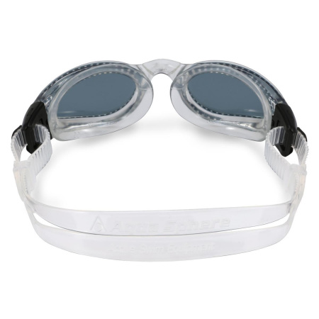 Aqua Sphere Kaiman Schwimmbrille normal graues Glas