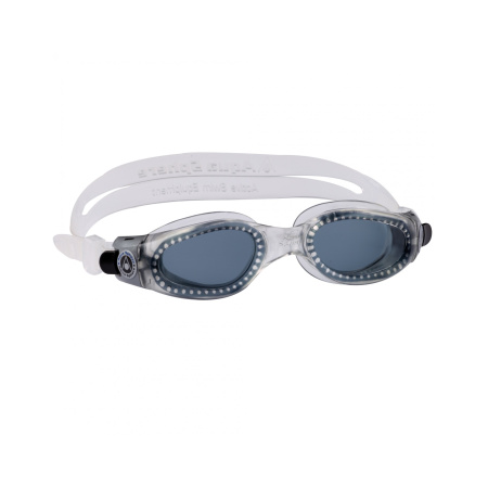 Aqua Sphere Kaiman Schwimmbrille small fit dunkles Glas